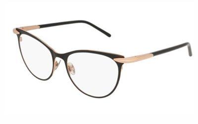 Pomellato PM0051O 001 black black transpare 52 Women's Eyeglasses