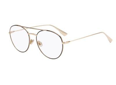 Christian Dior Diorstellaireo5 2M2/17 BLACK GOLD 54 Women's Eyeglasses