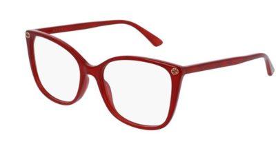 Gucci GG0026O red 53 Women's Eyeglasses