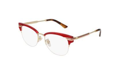 Gucci GG0201O 003-red 50 Women's Eyeglasses