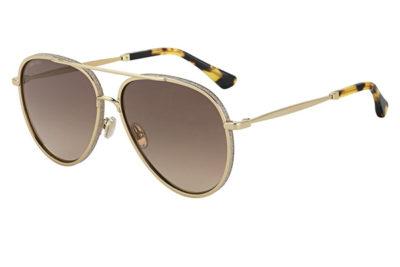 Jimmy Choo Triny/s J5G/LA GOLD 59 Women's Sunglasses