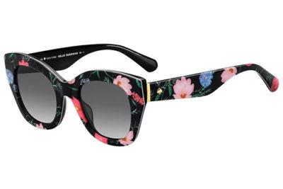 Kate Spade Jalena/s INA/9O DIAMBK FBRBK 49 Women's Sunglasses