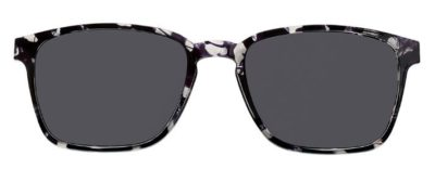 MODO SEUDRE clip on gray tort 53 Unisex Eyeglasses