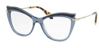 Miu Miu 06PV VIG1O1 53 Women's Eyeglasses