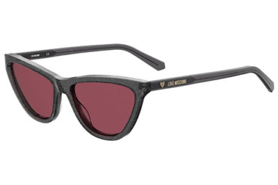 Moschino Love Mol021/s KB7/U1 GREY 56 Women's Sunglasses