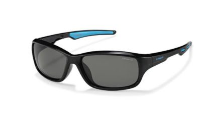 Polaroid P0425 D51/Y2 BLACK BLUE 55 Kids Sunglasses