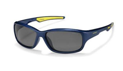 Polaroid P0425 KEA/Y2 BLUE LIME 55 Kids Sunglasses