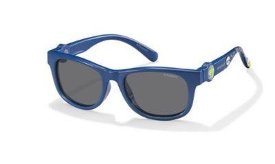 Polaroid Pld 8011/s MBW/Y2 BLUE 44 Kids Sunglasses
