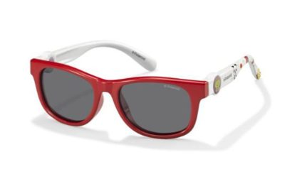 Polaroid Pld 8011/s MC4/Y2 CORAL WHITE 44 Kids Sunglasses