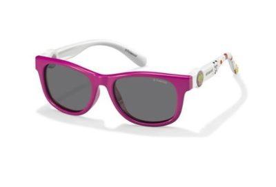 Polaroid Pld 8011/s NDZ/Y2 FUCHSIA WHTE 44 Kids Sunglasses