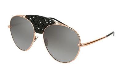 Pomellato PM0033S 002 gold gold silver 59 Women's Sunglasses