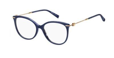 Max Mara Mm 1353 PJP/16 BLUE 53 Women's Eyeglasses
