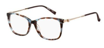 Max Mara Mm 1356 JBW/16 BLUE HAVANA 53 Women's Eyeglasses