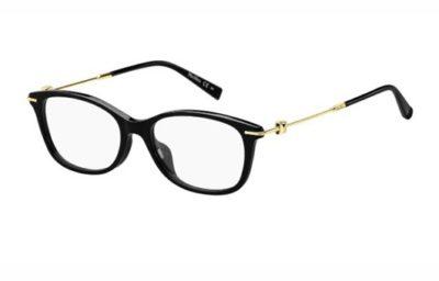 Max Mara Mm 1364/f 807/17 BLACK 52 Women's Eyeglasses