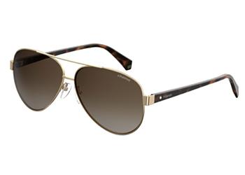 Polaroid Pld 4061/s J5G/LA GOLD 61 Women's Sunglasses