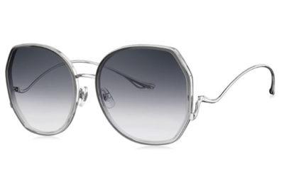 Bolon BL6085A12 transparent grey gradient 59 Women's Sunglasses