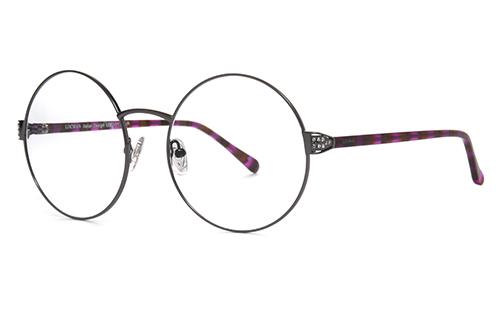 Locman LOCV013/PUR purple 58 Eyeglasses