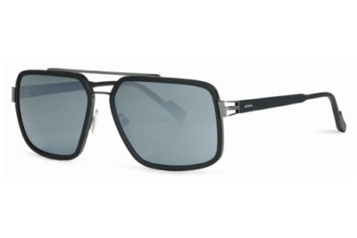 Locman LOCS001/01 black silver 60 Men's Sunglasses