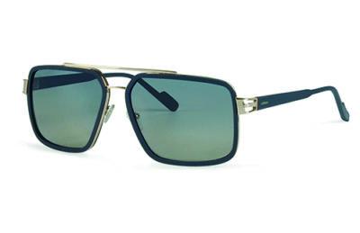 Locman LOCS001/02 blue/gold 60 Sunglasses