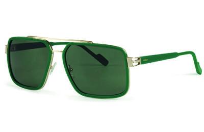 Locman LOCS001/04 green/gold 61 Sunglasses