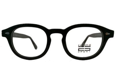 EstherOptica WD1220 C1 BLK 47 Unisex Eyeglasses