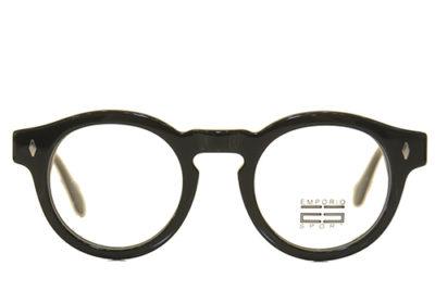 EstherOptica WD1258 C1 BLK 48 Unisex Eyeglasses