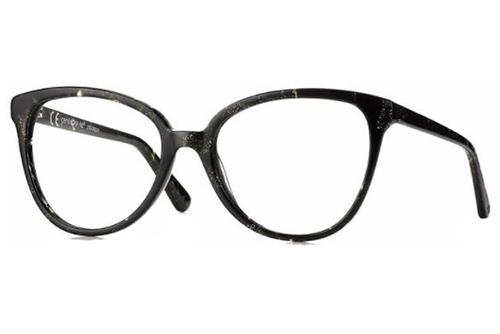 CentroStyle F029853050000 SHINY BLACK/GOLD Women's Eyeglasses