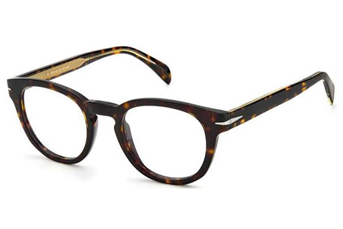 David Beckham Db 1052 086/22 HAVANA 49 Men's Eyeglasses