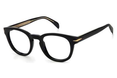 David Beckham Db 1052 807/22 BLACK 49 Men's Eyeglasses