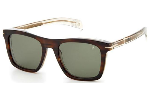David Beckham Db 7000/s EX4/9O BROWN HORN 51 Men's Sunglasses