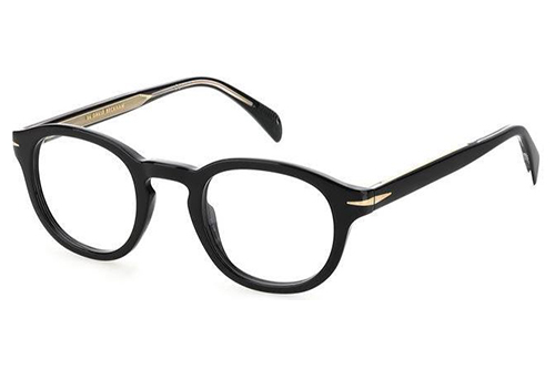 David Beckham Db 7017 807/24 BLACK 48 Men's Eyeglasses