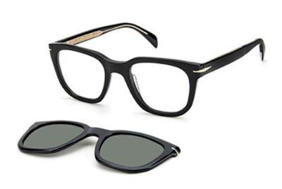 David Beckham Db 7043/cs 807/UC BLACK 50 Men's Eyeglasses