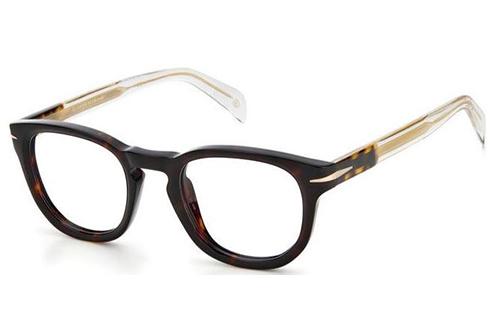 David Beckham Db 7050 086/22 HAVANA 47 Men's Eyeglasses