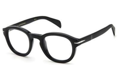 David Beckham Db 7069 BSC/45 BLACK SILVER 47 Men's Eyeglasses