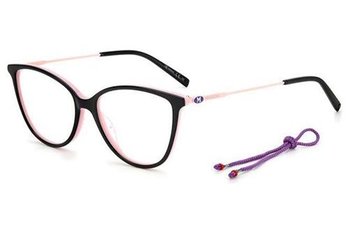 Missoni Mmi 0063 3H2/15 BLACK PINK 53 Women's Eyeglasses