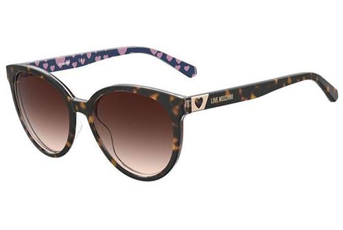 Moschino Mol041/s 086/HA HAVANA 56 Women's Sunglasses