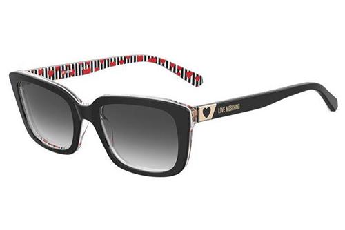 Moschino Mol042/s 807/9O BLACK 53 Women's Sunglasses
