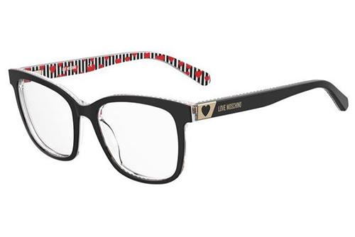 Moschino Mol585 807/17 BLACK 52 Women's Eyeglasses