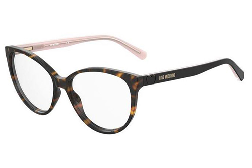 Moschino Mol591 086/14 HAVANA 57 Women's Eyeglasses