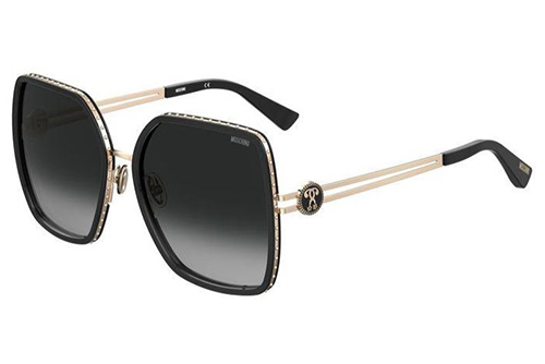 Moschino Mos096/s 807/9O BLACK 57 Women's Sunglasses