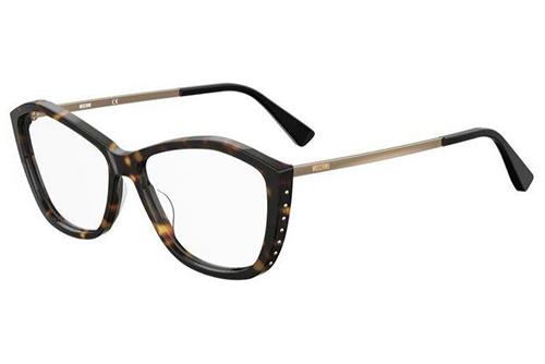Moschino Mos573 086/14 HAVANA 55 Women's Eyeglasses