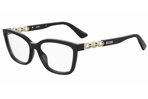 Moschino Mos598 807/15 BLACK 55 Women's Eyeglasses
