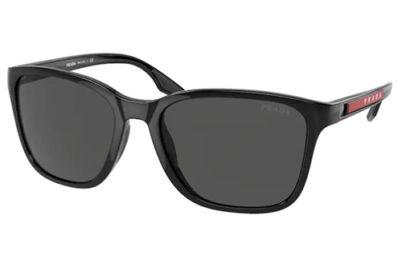 Prada Linea Rossa 02WS 1AB06F 57 Men's Sunglasses