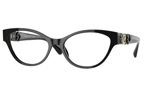 Versace 3305 GB1 53 Women's Eyeglasses