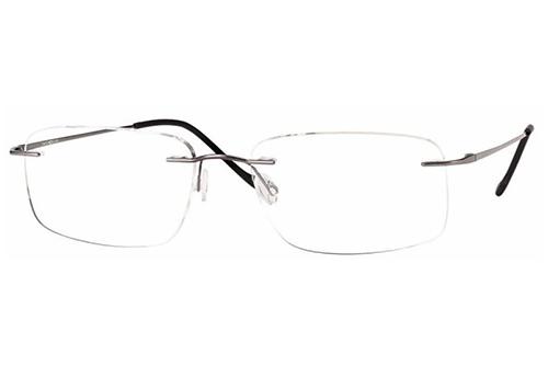 CentroStyle 19145 SHINY GUNMETAL 55 17-145 Men's Eyeglasses