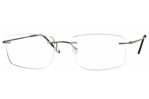 CentroStyle 19147 SHINY GUNMETAL 57 18-145 Men's Eyeglasses