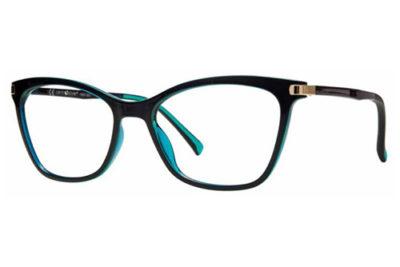 CentroStyle F020554073000 BLACK 54 17-140 Women's Eyeglasses