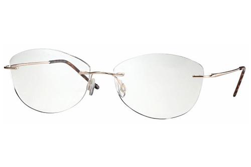 CentroStyle F025056282000 SHINY GOLDROSE 5 Women's Eyeglasses