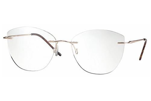 CentroStyle F025153282000 SHINY GOLDROSE 5 Women's Eyeglasses