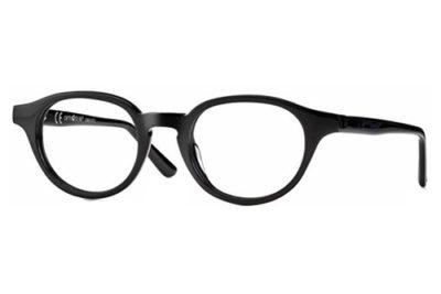 CentroStyle F030746001000 SHINY BLACK 46 2 Unisex Eyeglasses